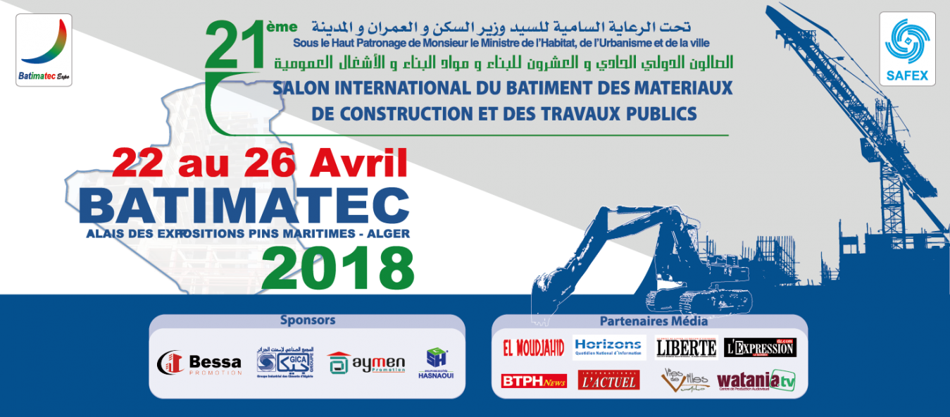 Batimatec 22-26 Avril 2018